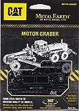 Fascinations Metal Earth 3D Laser Cut Model Kit CAT Motor Grader