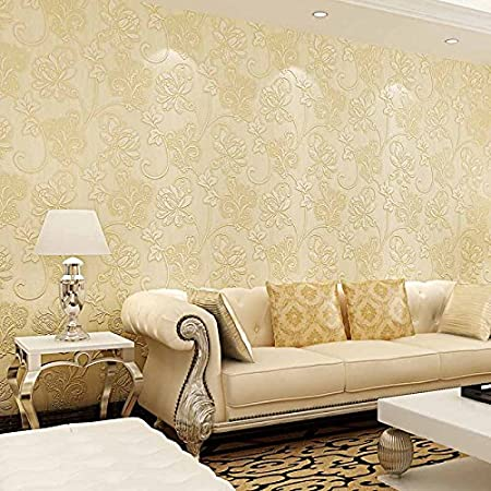 European-style wallpaper nonwoven wallpaper 3D wallpapers living ...