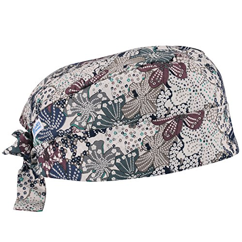 - GUOER Scrub Hat Calabash Hat Scrub Cap Calabash Scrub Hat One Size Multiple Colors (NEW13)