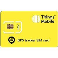 SIM-kort för PERSONLIG GPS-spårare – Things Mobile – med världsomspännande nättäckning och flera leverantörsnät, GSM/2G…
