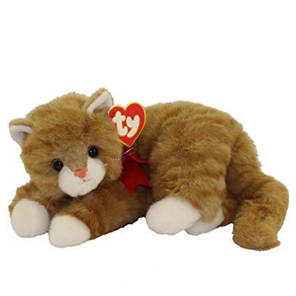1523b153b88 Image Unavailable. Image not available for. Color  Ty Classic Beanie Buddy  Al E. Kat the Orange Alley Cat Plush