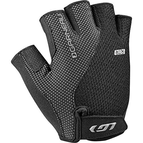 [Louis Garneau Men's Air Gel + RTR Cycling Gloves, Black, X-Large] (Air Gel)