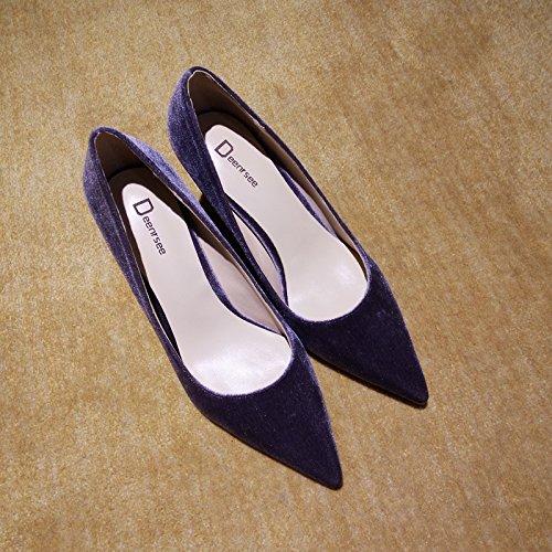 tac Zapatos Qiqi Xue la Corte de de Zapatos 7qA0p