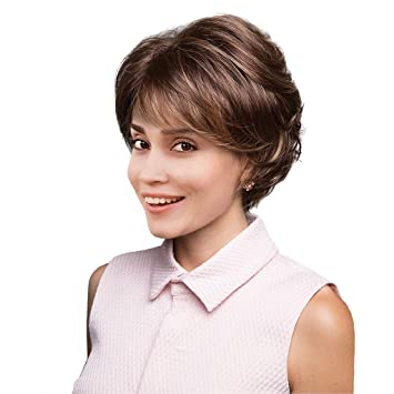 Short Curly Hair With Bangs And Layers 24