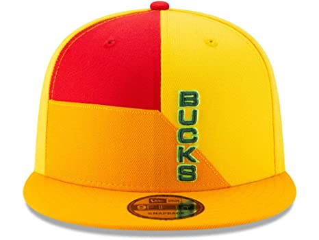 451b185d2ed4d9 Image Unavailable. Image not available for. Color: New Era Milwaukee Bucks  ...