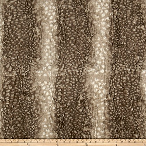 Shannon Fabrics Minky Luxe Cuddle Fawn, (Fawn Apparel)