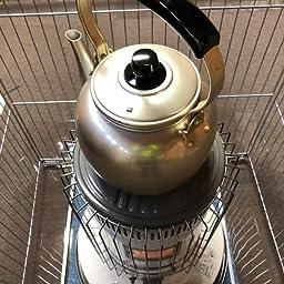 Amazon アカオアルミ 湯沸 4l アルミニウム しゅう酸アルマイト ツル ツマミ フェノール樹脂 日本 Byw やかん ケトル オンライン通販