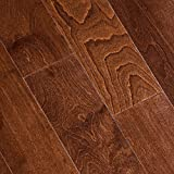 Antique Birch 3/8 in. Thick x 5 in. Wide x 47-1/4 in. Length Click Lock Hardwood Flooring (19.686 sq. ft. / case)