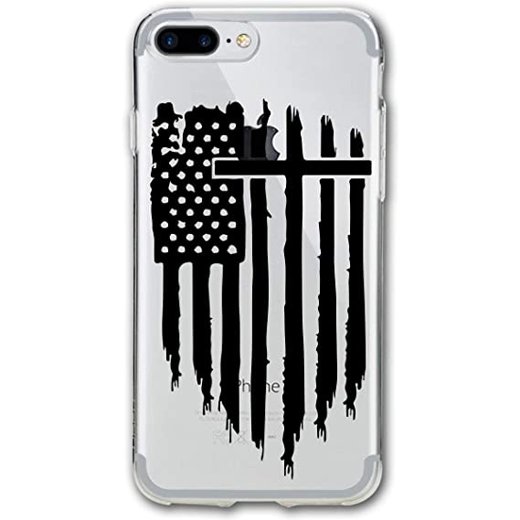 Jesus And America Flag iphone case