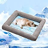 Best Cooling Pad For Dogs - Dog Cooling Bed, Leegoal Dog Cooling Pad Summer Review