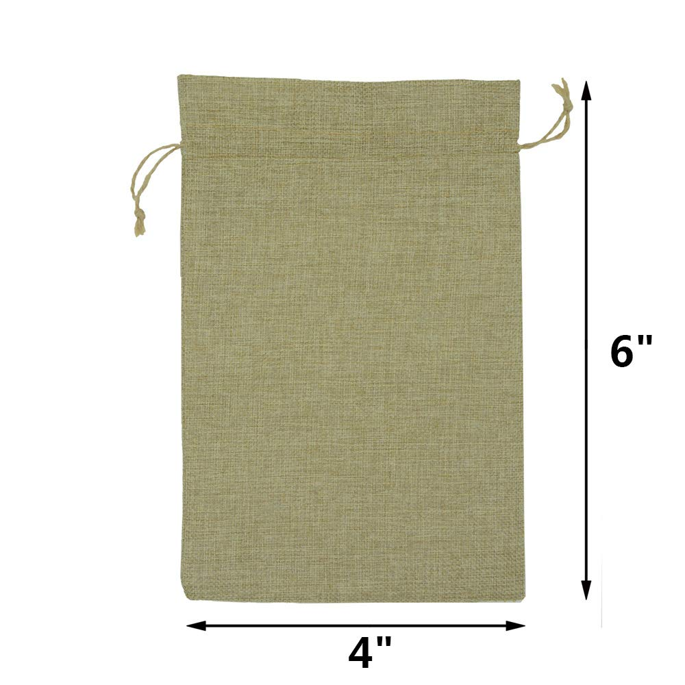 Christmas YUKUNTANG Burlap Bags Presents Thanksgiving Snacks 5X7 20 Pcs Wedding Party Jewelry Favor Gift Candy Drawstring Pouch Burlap Sacks for Arts Crafts
