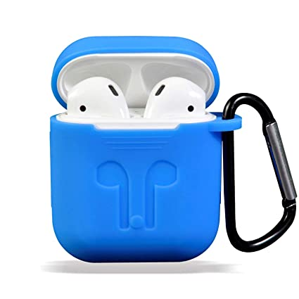 cheap for discount e0a57 9ee4b Airpods Case Cover, Applestore Earpods Cases Protective Cover Silicone  Skin, AirPods Case AirPods Accessories Kits with Keychain Holder for Apple  ...