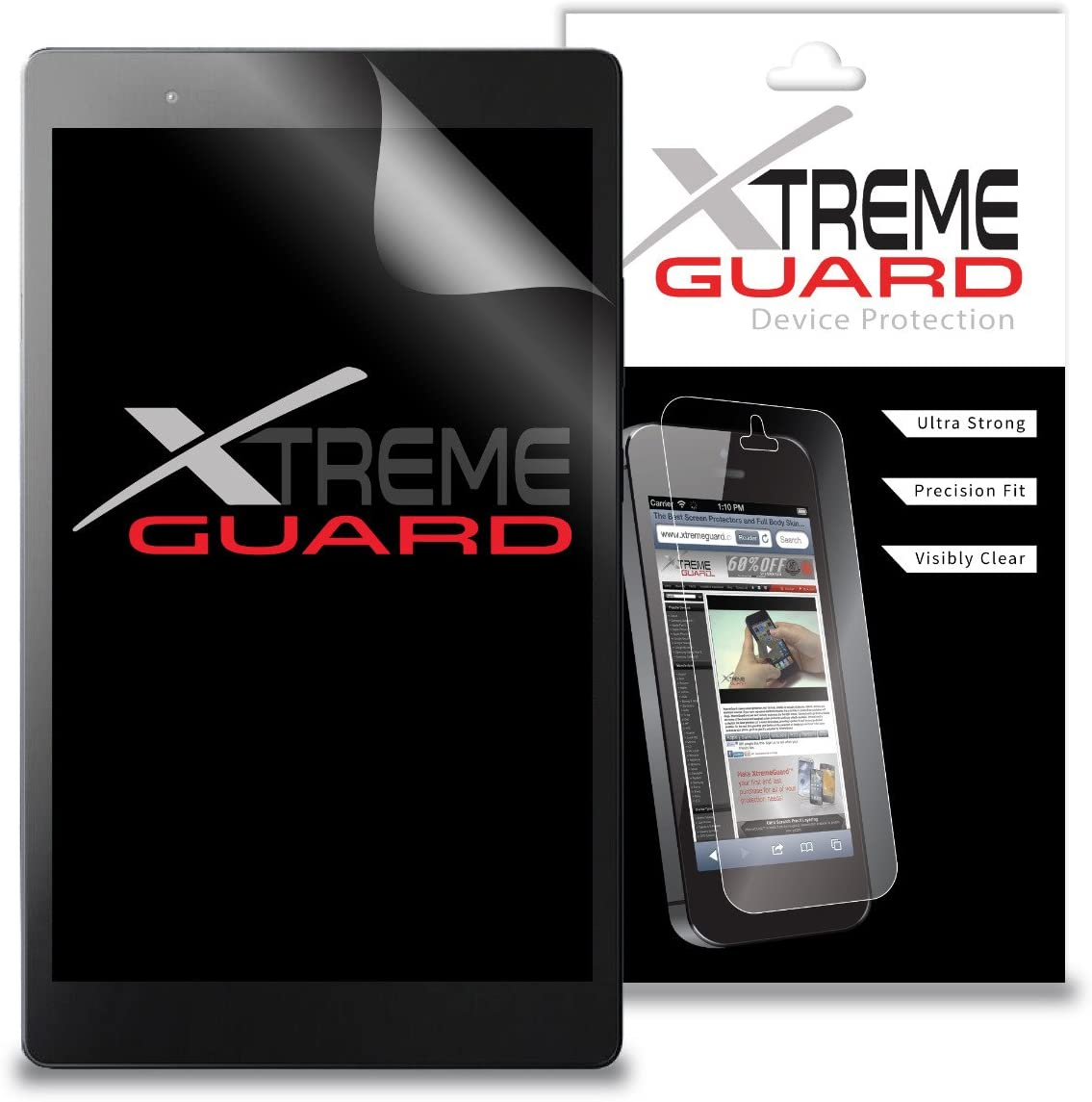 Premium XtremeGuard Screen Protector Cover for Lenovo Tab 3 8 Plus TB-8703F (Ultra Clear)