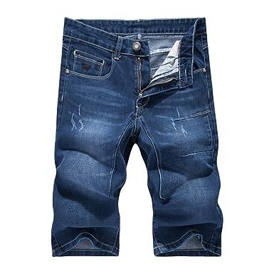 044f1fa1bbed CHENGYAGN Junge Männer Comfortbale Bermuda Kurze Hose Casual Denim Jeans  Shorts  Amazon.de  Bekleidung