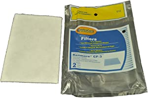 Kenmore Canister Vacuum Cleaner CF-3 Filter Replaces #86888