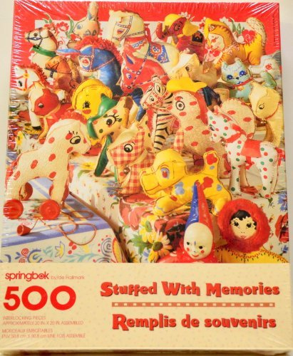Stuffed with Memories 500 Piece Puzzle By Springbok by Springbok