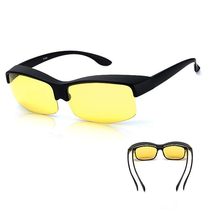 aac2e51d99 Amazon.com  Half Frame Night Vision Glasses