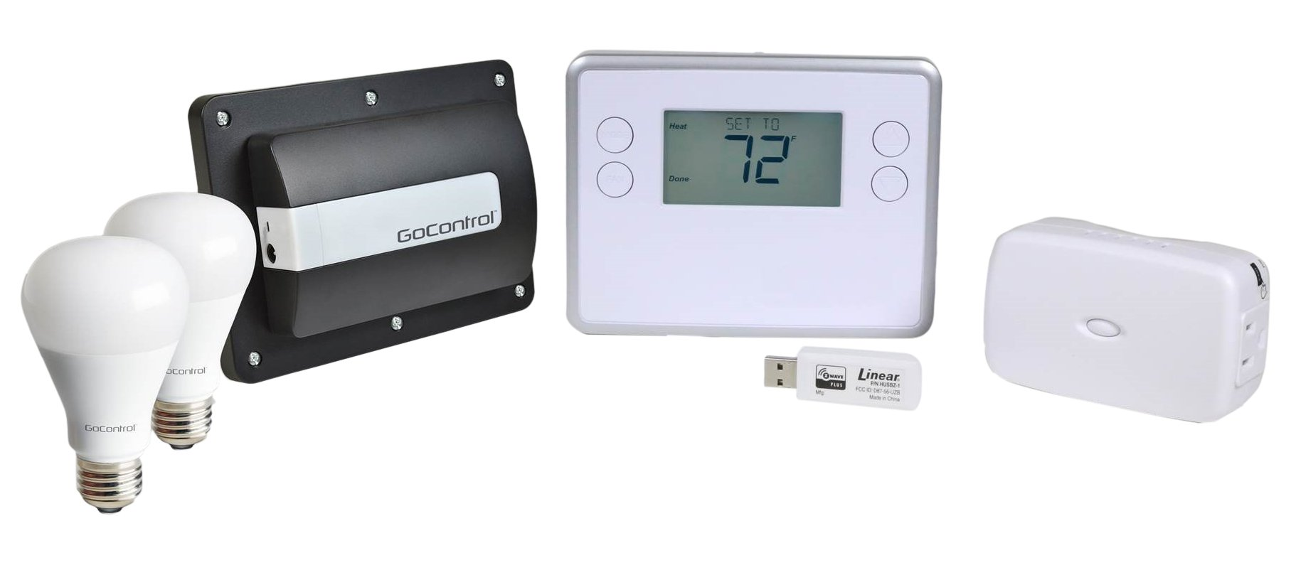 GoControl GCQSKIT-PRO QuickStick Z-Wave Complete Automation Starter Kit
