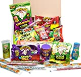 sour candy mix - Extreme Sour Candy Assortment - Filled With 42 Individual Packages - Featuring (Warheads, Sour Patch kids, Toxic Waste, Sour Belts, Sour Punch Straws, Liquid Drops & More) Great For All Ages