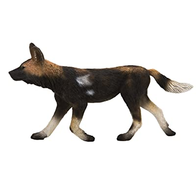 MOJO African Painted Dog Toy Figure: Toys & Games