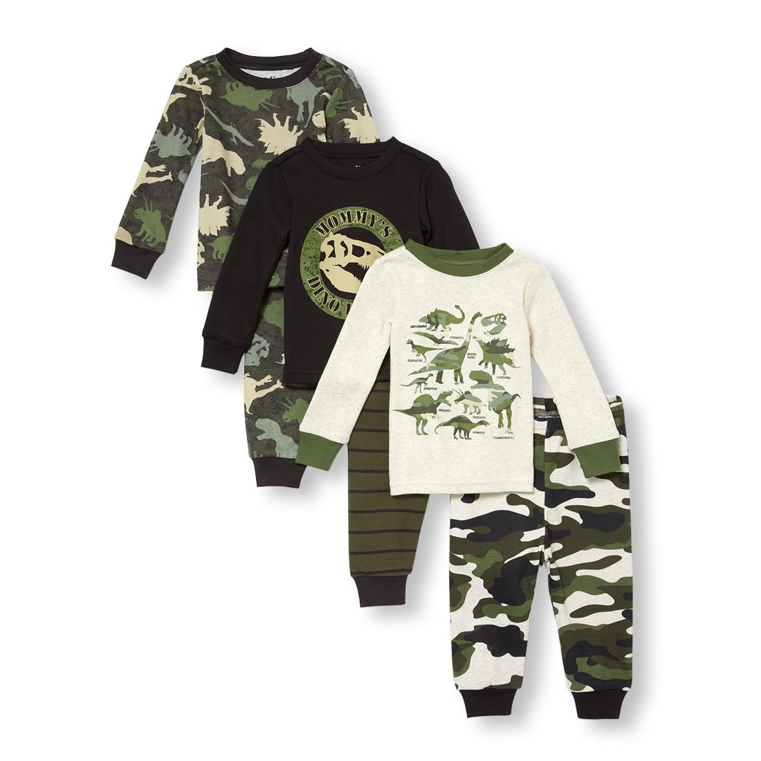 The Children's Place Baby Boys 6 Piece Long Sleeve Pajama Set The Children' s Place