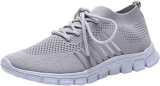 Luckycat Mujer Malla Calzado Atletismo Zapatillas Deportivas de Mujer Retro Zapatillas de Deportivo Sneakers Running Cordones Zapatos para Correr Plataforma Fitness Casual Primavera Verano Senderismo: Amazon.es: Relojes