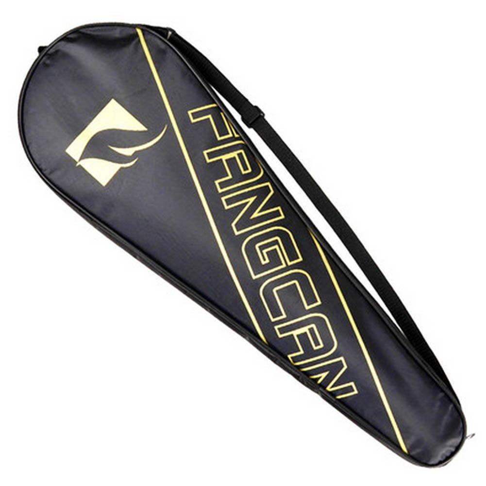 調節可能な肩ストラップバドミントンラケットカバーバドミントンラケットバッグテニスバッグ( 2ラケット、B B073WV5Y7Q