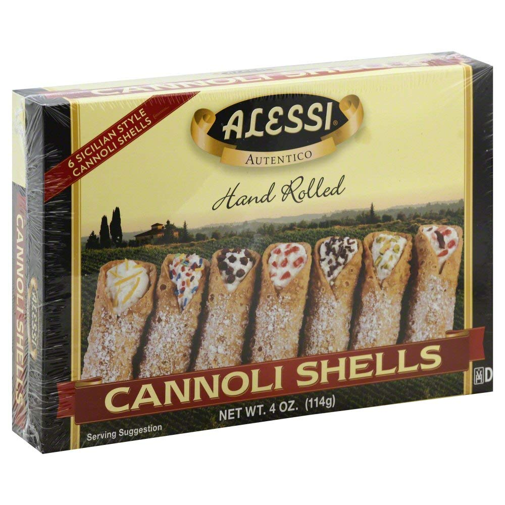 Alessi Cannoli Shells (6 ct) 4.0 OZ (Pack of 2) by Generic (Image #1)
