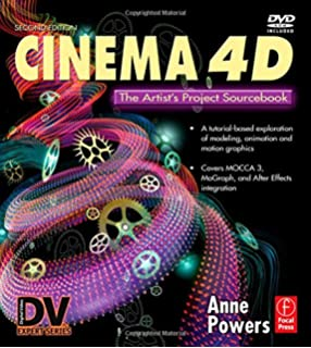 Amazon com: Cinema 4D, Third Edition: The Artist's Project