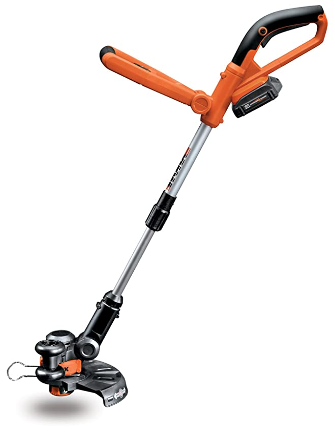 WORX WG155.5 10-Inch 20-Volt MAX Lithium Cordless Grass Trimmer/Edger with Quick Charger