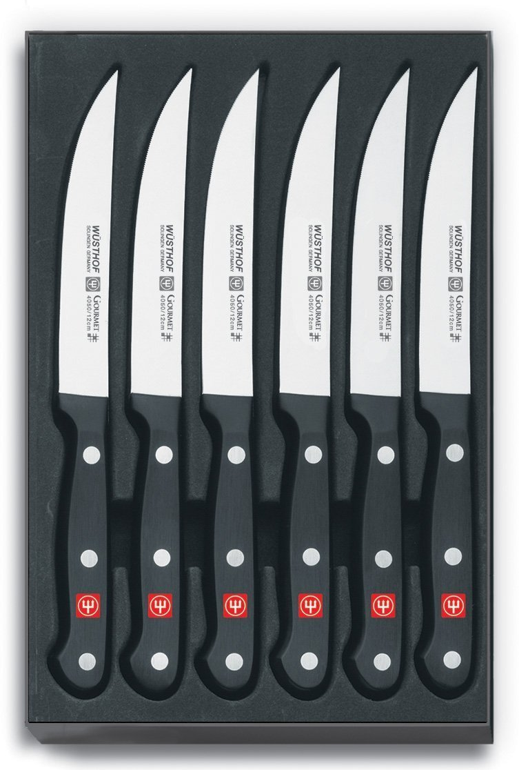Wusthof Gourmet Six Piece Steak Knife Set