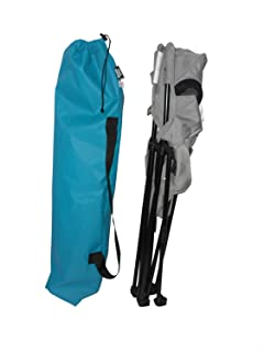 product image for Chair Cover Replacement,Drawstring Designed to Carry 1 Standard Sized Camping Chair US. Made (Turquoise)