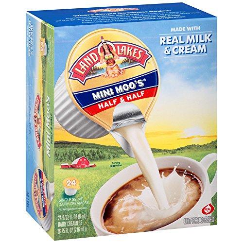 Land O Lakes Mini Moo's Half & Half Dairy Creamer 24-0.28 fl. oz. Box by International
