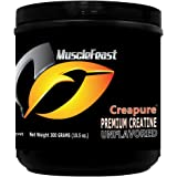 Creapure® Creatine unflavored 300 Grams (10.5 Ounces)