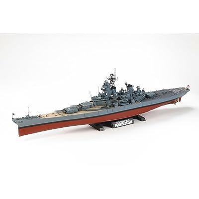 Tamiya America, Inc 1/350 USS Missouri Battleship, TAM78029: Toys & Games
