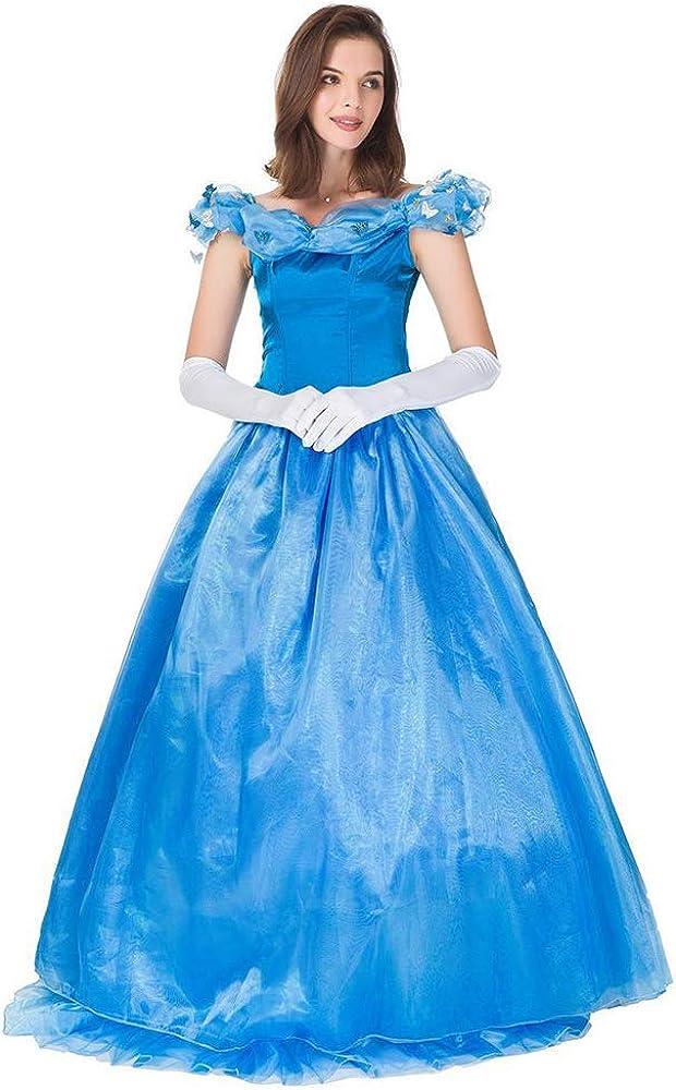 S&Z Disfraz de Princesa para Damas de Halloween Vestido de ...