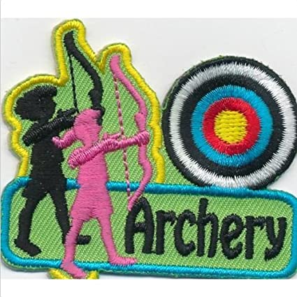 ARCHERY Arrow Patches Crests Badges GUIDES SCOUT hunger games ,, Ship From  USA Fast Delivery