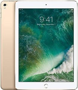 iPad Pro 9.7-inch (128GB, Wi-Fi + Cellular, Gold) 2016 Model (Renewed)