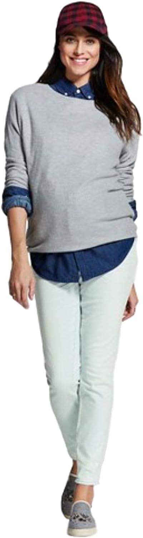 Liz Lange Maternity Under The Belly Distressed Jegging
