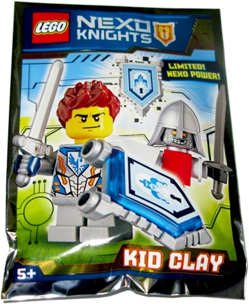 LEGO Nexo Knights - Limited! Nexo Power! - Kid Clay foil Pack