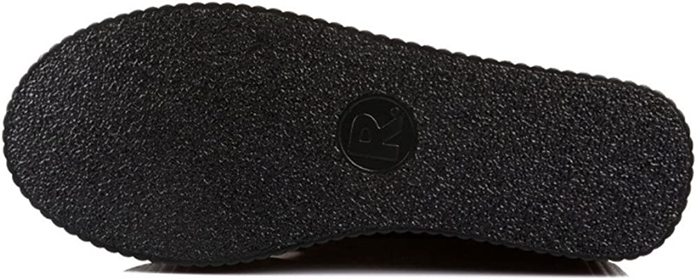 RoseG Womens Handmade High Top Goth Punk Flats Platform Creeper Shoe