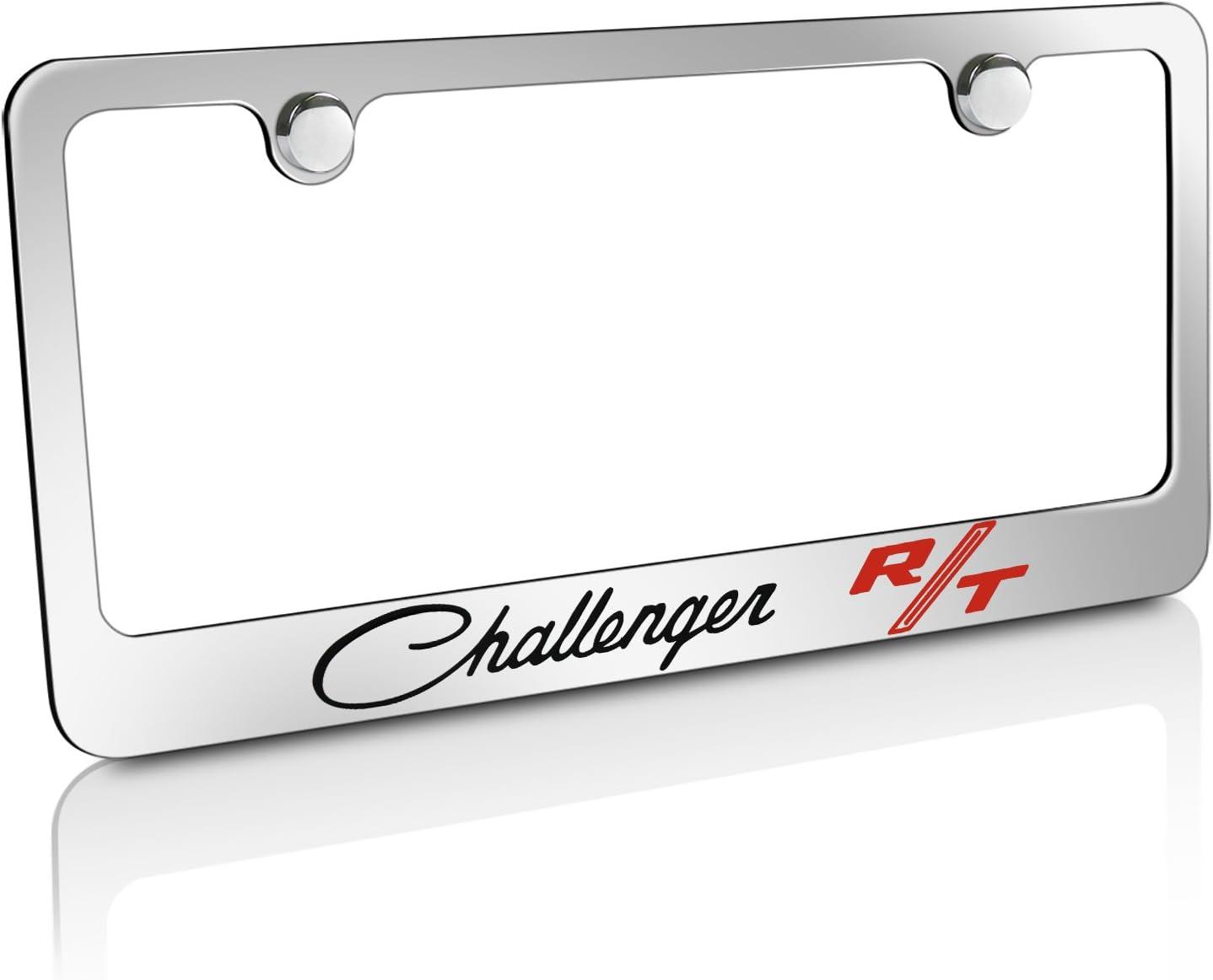 Chrysler 300 Chrome Plated Brass Metal License Plate Frame Tag Holder