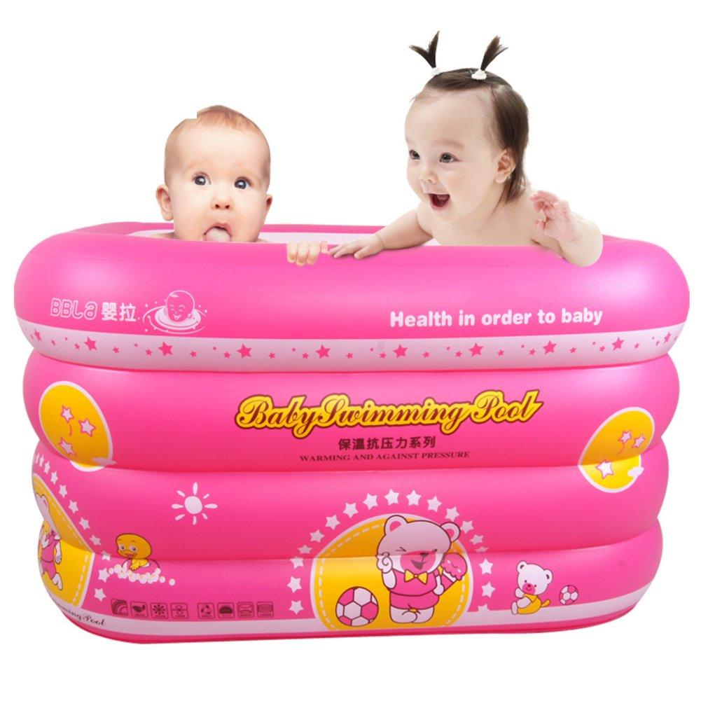 Baby Schwimmbad/Familie nach Hause Quadrat-geformte Kinderbecken/Isolierung verdicken Baby schwimmen Fässer-A