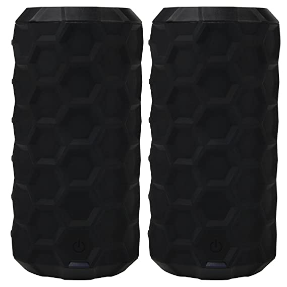 808 Canz H2O Bluetooth Wireless Speaker (2-pk )