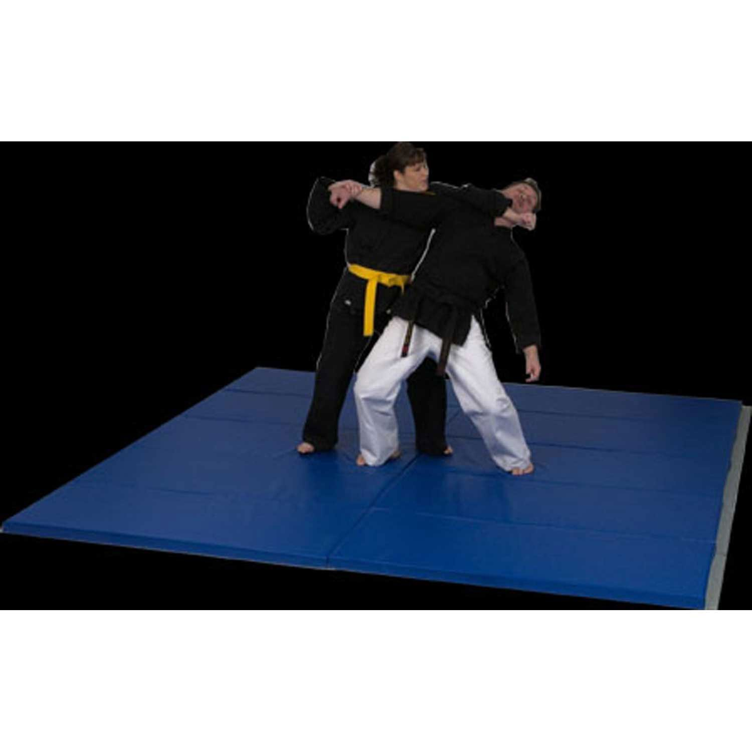 Deluxe Martial Arts折りたたみマット、6 ' x 12 ' x 2