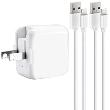 98cf2d49147214 TRANGJAN Compatiblile With iPad Charger 2.4A 12W USB Charger + 6FT Charging  Cable, Compatible
