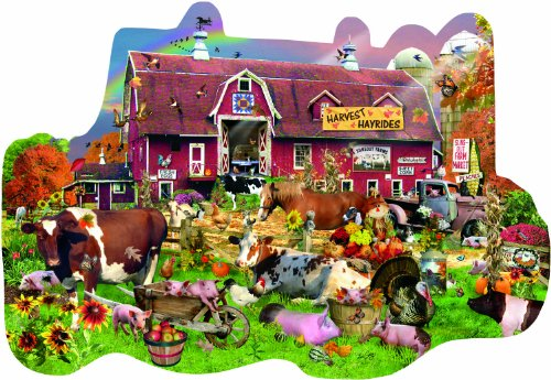Countryside Fall 1000 pc Jigsaw Puzzle