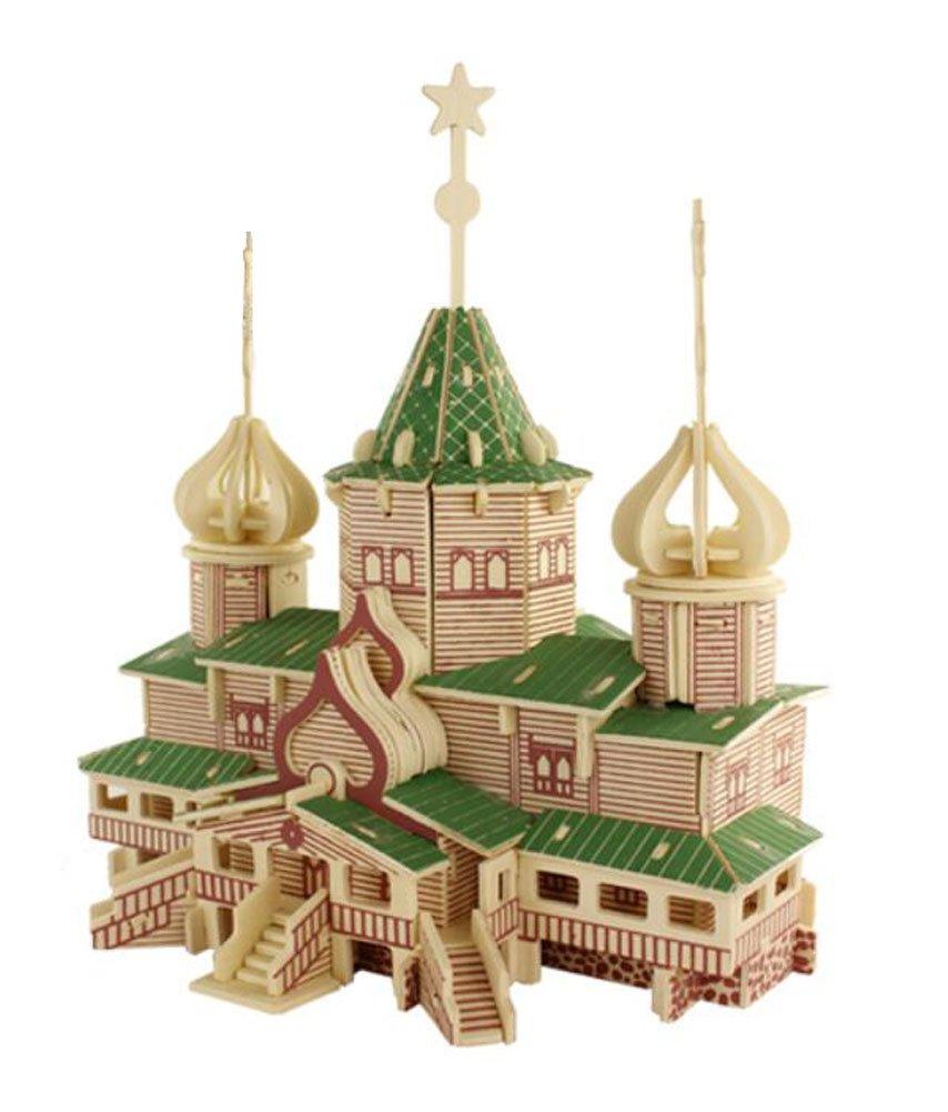 お得セット 3d木製パズルCastle 03 Building教育玩具、# B077GV9ZSP 03 B077GV9ZSP, アジアンインテリア ループ:45bd5d6e --- clubavenue.eu
