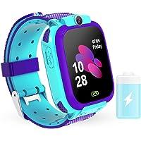 QINQI 1. 44 Inch Anti-Verlies Smart Watch Kinder Smart Phone Horloge Real-Time Positionering Bellen Games Bescherm…