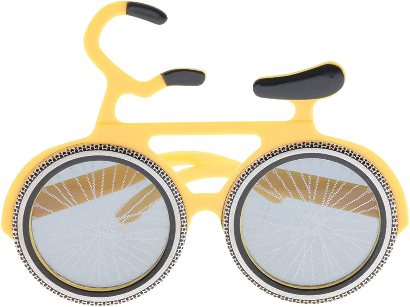IPOTCH Gafas de Sol Divertidas Forma de Bicicleta Artículos de ...